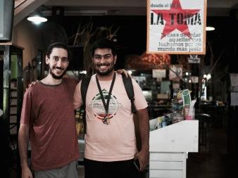 Right: Gonzalo, President of Biscotti Cooperative